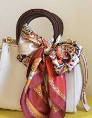 Sahara Sunsets silk scarf for sale