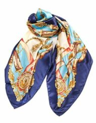 If It Ain't Baroque Don't Fix It silk scarf for sale